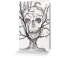 Living In The Tree Greeting Card