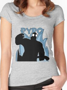 BLU Pyro - Team Fortress 2 Women's Fitted Scoop T-Shirt