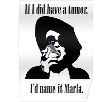 I'd name it Marla Poster