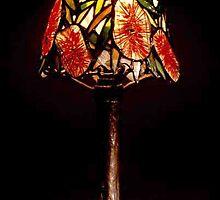 Bottlebrush lampshade by SteveCriz