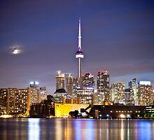 Toronto Skyline by indiabluephotos