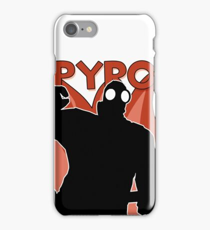 RED Pyro - Team Fortress 2 iPhone Case/Skin