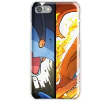 Charizard and Swampert iPhone Case/Skin