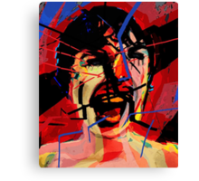 Shower scene from Psycho Canvas Print