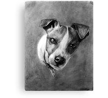 Dog Portrait Commission 1 Canvas Print