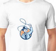 Ringleader Ringmaster Whip Circle Retro Unisex T-Shirt