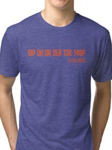 Freak No Hitter (Orange) Tri-blend T-Shirt
