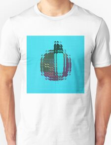 Abstract blue T-Shirt