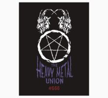 The Heavy Metal Union - Sticker by Brian J. Smith (Dangerous Days)