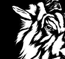 Goat Head - Sticker Sticker