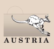 Australia Kangaroos of Austria by Rob Roy Neat