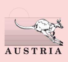 Australia Kangaroos of Austria Kids Tee