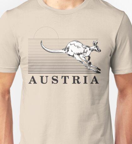 Australia Kangaroos of Austria Unisex T-Shirt