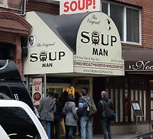 Seinfeld Soup Man NYC by FangFeatures