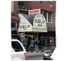 Seinfeld Soup Man NYC Poster
