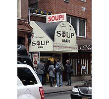 Seinfeld Soup Man NYC Photographic Print