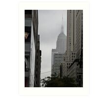 Sneaky Empire State Building NYC Art Print