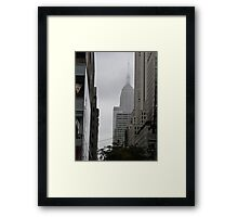 Sneaky Empire State Building NYC Framed Print