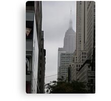 Sneaky Empire State Building NYC Canvas Print