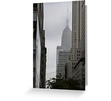 Sneaky Empire State Building NYC Greeting Card