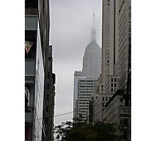 Sneaky Empire State Building NYC Photographic Print