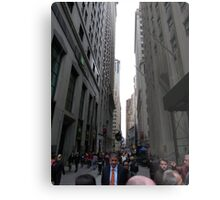 Wall Street, NYC Metal Print