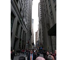 Wall Street, NYC Photographic Print
