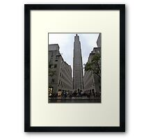 NYC Skyscraper Framed Print