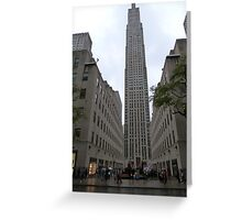 NYC Skyscraper Greeting Card