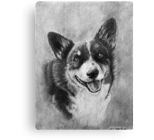 Dog Portrait Commission 2 Canvas Print
