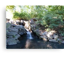 Waterfall, Central Park, NYC Canvas Print