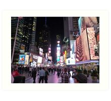 Times Square, NYC Art Print