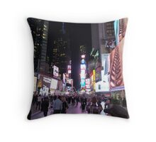 Times Square, NYC Throw Pillow