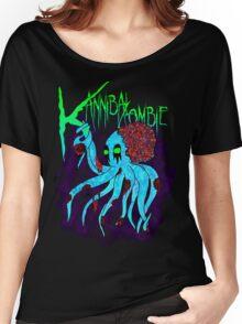 """Kannibal Zombie"" Zokto Shirt Women's Relaxed Fit T-Shirt"