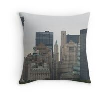 NYC Skyscrapers Throw Pillow