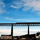rail in the sky  by Stuart Mcguire