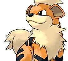 Growlithe by linwatchorn