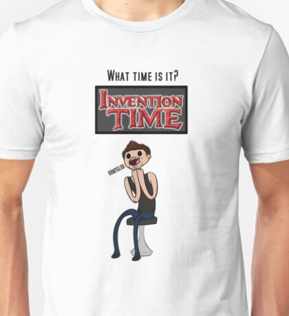 Invention Time! Unisex T-Shirt