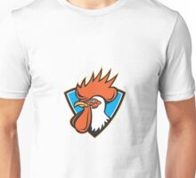 Rooster Cockerel Head Crest Unisex T-Shirt