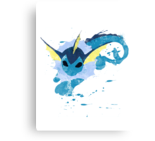 Graffiti Vaporeon Canvas Print