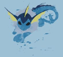Graffiti Vaporeon Kids Clothes