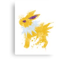 Graffiti Jolteon Canvas Print