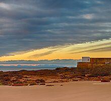 HOPEMAN - HARBOUR BEACH SUNSET by JASPERIMAGE