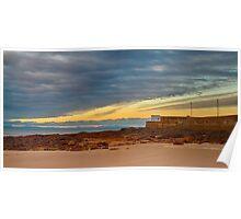HOPEMAN - HARBOUR BEACH SUNSET Poster