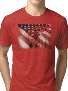 american grizz Tri-blend T-Shirt