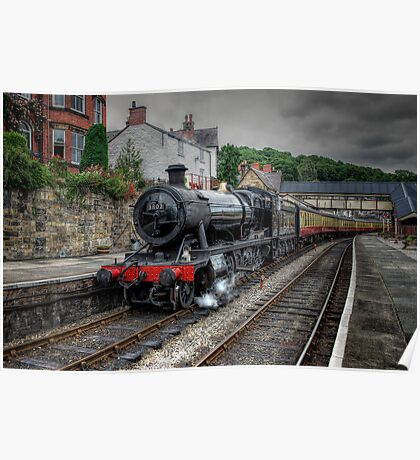 The 3802 Steam Loco Poster
