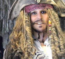 Captain Jack Sparrow Pirates Of The Caribbean by CapeCodGiftShop