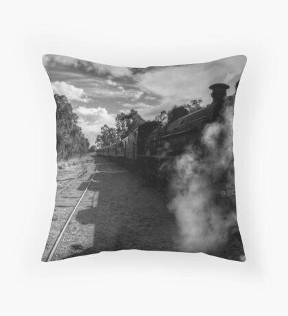 Steam Ranger Idle Throw Pillow