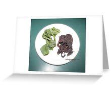 Plantain and seaweed  Greeting Card