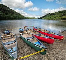 Canoe Break by Adrian Evans